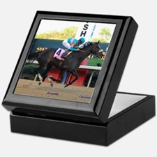 Horse Racing Keepsake Box