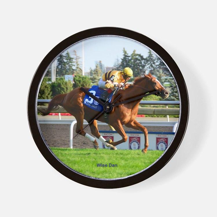 Race Horse Wall Clock