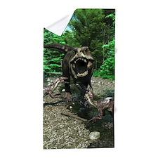 Tyrannosaurus Rex 4 Beach Towel