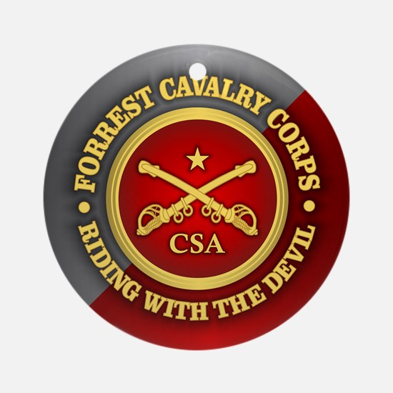 CSC-Forrest Cavalry Ornament (Round)