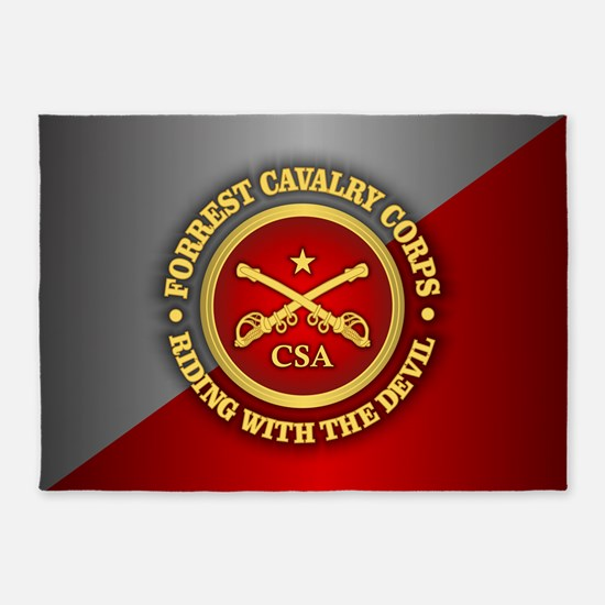 CSC-Forrest Cavalry 5'x7'Area Rug
