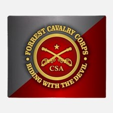 CSC-Forrest Cavalry Throw Blanket