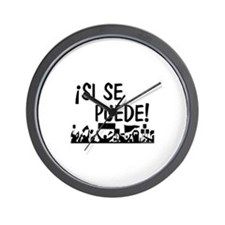 Unique Hispanic Wall Clock