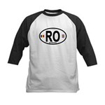 Romania Intl Oval Kids Baseball Jersey