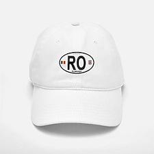 Romania Intl Oval Baseball Baseball Cap