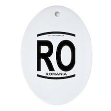 Romania Intl Oval Oval Ornament