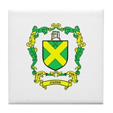 O'DOWD Coat of Arms Tile Coaster