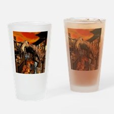 Attack of a dragon Drinking Glass