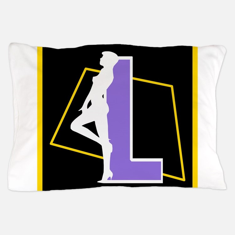 Naughty Initial Design (L) Pillow Case