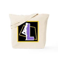 Naughty Initial Design (L) Tote Bag