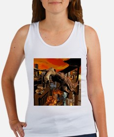 Attack of a dragon Tank Top