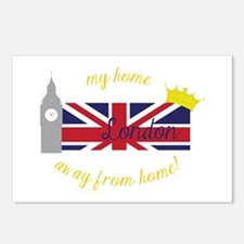 My Home London Away From Home! Postcards (Package