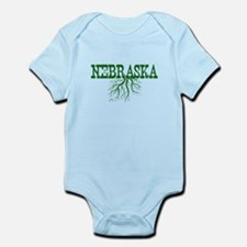 Nebraska Roots Infant Bodysuit