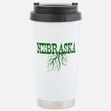 Nebraska Roots Stainless Steel Travel Mug
