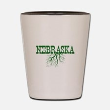 Nebraska Roots Shot Glass