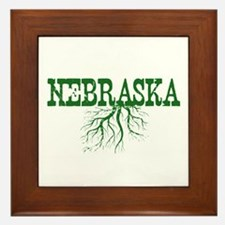 Nebraska Roots Framed Tile