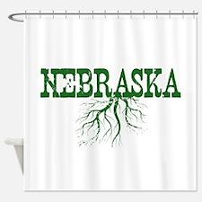 Nebraska Roots Shower Curtain