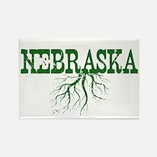 Nebraska Roots Rectangle Magnet