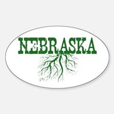 Nebraska Roots Sticker (Oval)