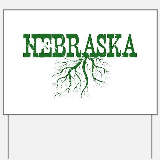 Nebraska Roots Yard Sign