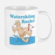 Waterskiing Rocks Mug