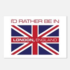 I'd Rather Be In London,England Postcards (Package