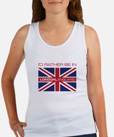 I'd Rather Be In London,England Tank Top