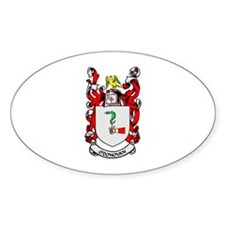O'DONOVAN Coat of Arms Oval Bumper Stickers