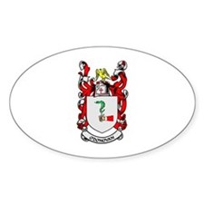 O'DONOVAN Coat of Arms Oval Stickers