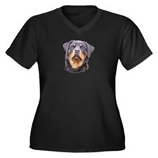 rottbitch1.psd Plus Size T-Shirt