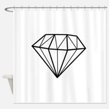 Cute Solitaire Shower Curtain