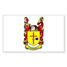 O'DONNELL Coat of Arms Rectangle Decal