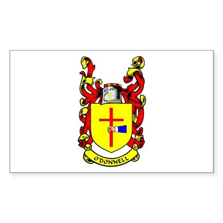 O'DONNELL Coat of Arms Rectangle Sticker