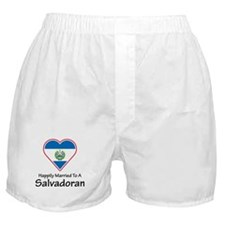 Happily Married Salvadoran Boxer Shorts
