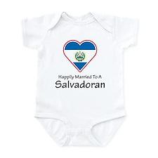 Happily Married Salvadoran Infant Bodysuit