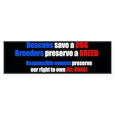 BreederBumper.jpg Bumper Bumper Sticker