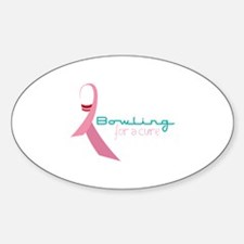 Bowling For A Cure Decal