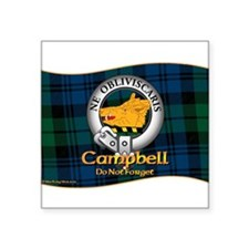 "Cute Clan campbell Square Sticker 3"" x 3"""