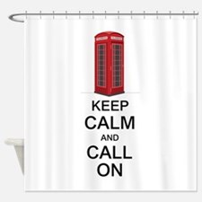 Call On Shower Curtain