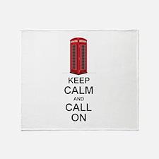 Call On Throw Blanket
