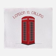London is Calling Throw Blanket