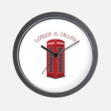 London is Calling Wall Clock