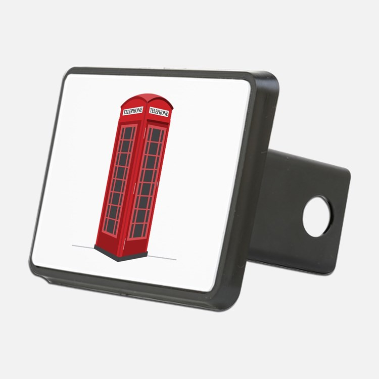 London Phone Booth Hitch Cover