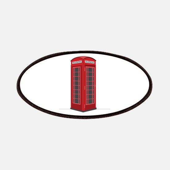 London Phone Booth Patches