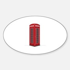 London Phone Booth Decal