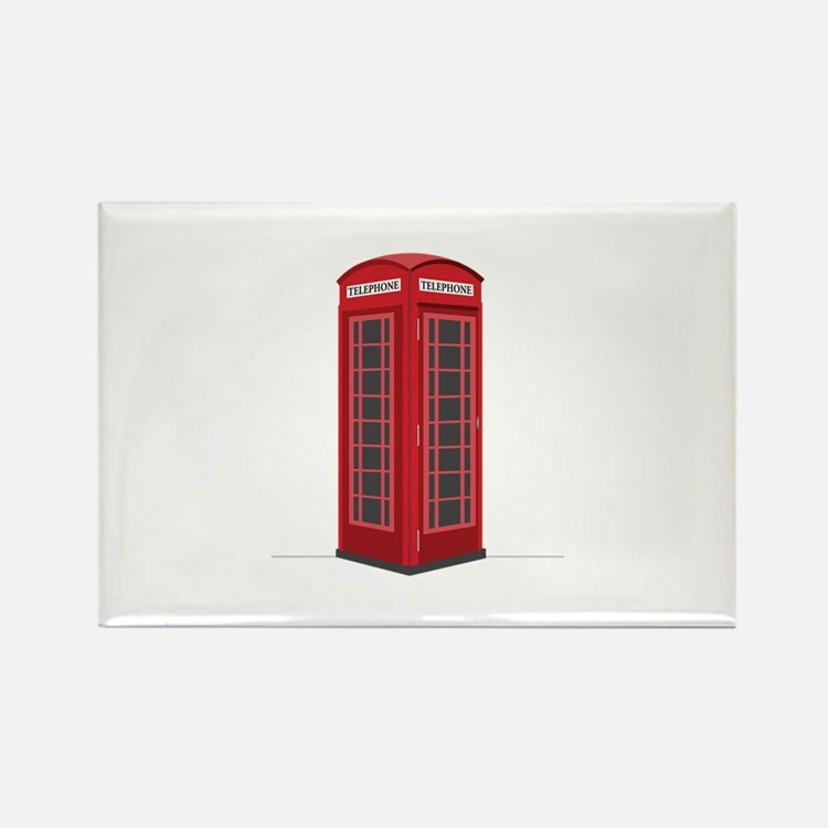 London Phone Booth Magnets
