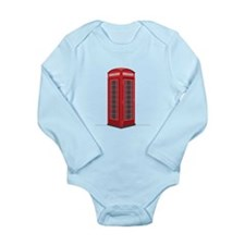 London Phone Booth Body Suit