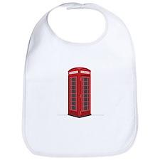 London Phone Booth Bib
