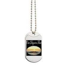 ONE DAY AT A TIME Dog Tags