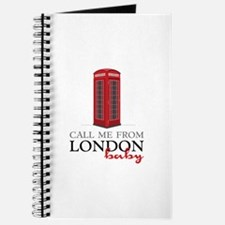 Call Me From London Journal